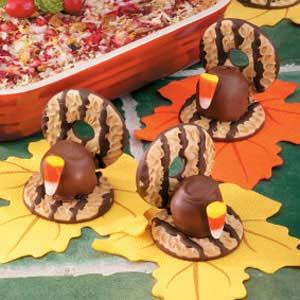 Cookie Turkeys Recipe