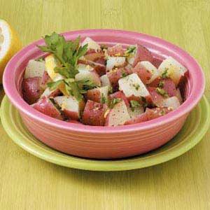 Zesty Lemon Potatoes Recipe