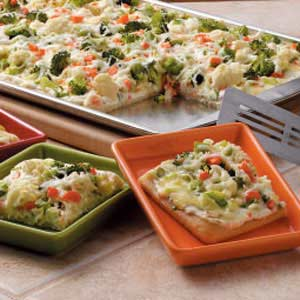 Veggie Appetizer Squares