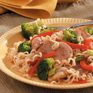 Broccoli Pork Stir-Fry Recipe