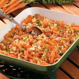 Onion-Bacon Baby Carrots Recipe