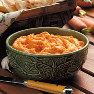 Roasted Carrot Dip Recipe