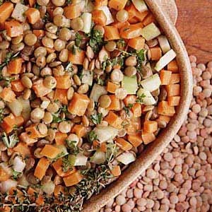 Carrot/Lentil Salad