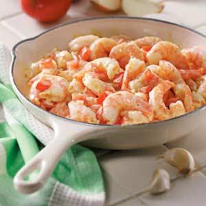 Shrimp with Mustard Sauce Recipe