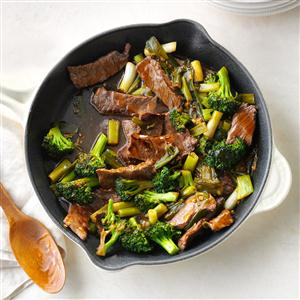 Saucy Beef with Broccoli Recipe