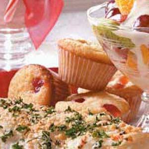 Mini Cherry Muffins Recipe