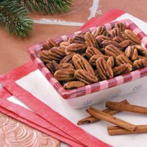 Cinnamon 'n' Spice Pecans Recipe