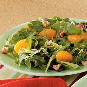 Mandarin Mixed Green Salad Recipe