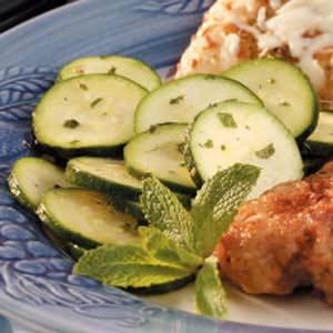 Minted Zucchini Salad Recipe