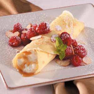 Caramel Cream Crepes