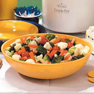 Fast Marinated Vegetables Recipe