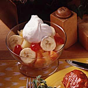 Fruit and Cream Dessert Recipe