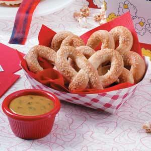 Soft Pretzels with Mustard Recipe