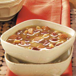 Hot Dog Bean Soup Recipe