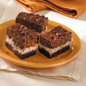 Triple-Tier Brownies Recipe