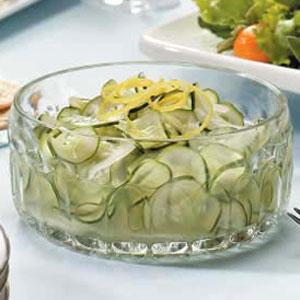 Refreshing Cucumber Salad Recipe
