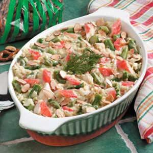 Asparagus Crab Casserole Recipe