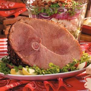 Sow-per Glazed Ham Recipe