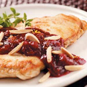 Almond Cranberry Chicken Recipe