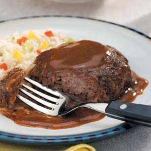 Salisbury Steak with Gravy