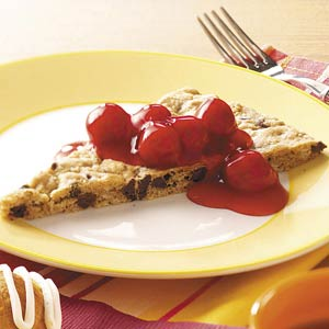Cherry Oatmeal Wedges Recipe