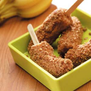 Granola Banana Sticks Recipe