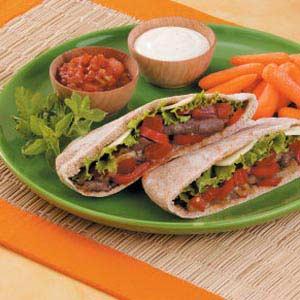 Fast Fajita Pita Recipe