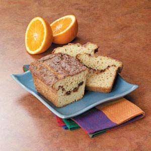Orange Cinnamon Swirl Bread Recipe