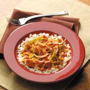 Stovetop Spicy Pork Recipe