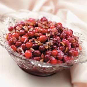 Baked Cranberry Pecan Sauce Recipe