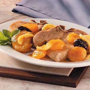 Pork Chops with Fruit Recipe