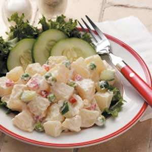 Tangy Potato Salad for Two Recipe