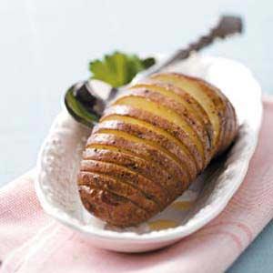 Grilled Fan Potatoes Recipe