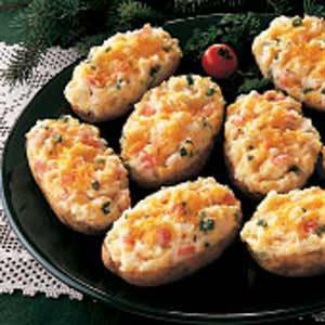Crab-Stuffed Potatoes Recipe