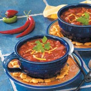 Spicy Ground Turkey  Chili Recipe
