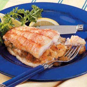 Crab-Stuffed Catfish Recipe