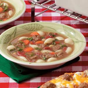 Fast Meatball Vegetable Soup Recipe