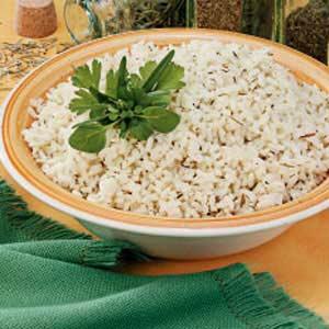 Quick Herbed Rice Recipe
