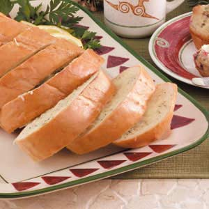 Dijon Poppy Seed Cheese Bread Recipe
