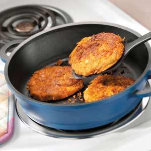 Gingered Sweet Potato Pancakes Recipe