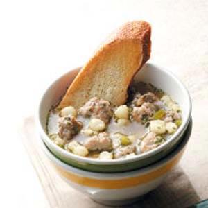 Hominy Sausage Soup Recipe