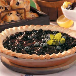 Cream Cheese Blueberry Pie Recipe