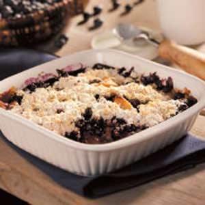 Apple Blueberry Cobbler Recipe