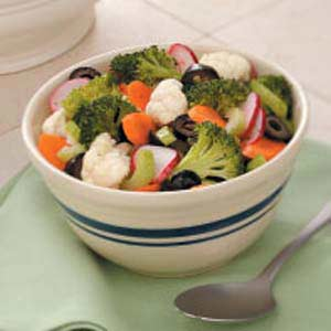Crunchy Marinated Vegetables