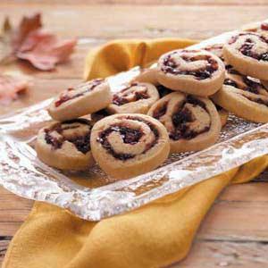 Cherry Cranberry Pinwheels Recipe