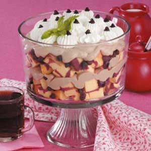 Cappuccino Cherry Trifle Recipe