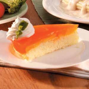 Peach-Topped Cake Recipe