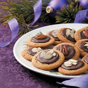 Frosted Peanut Butter Cookies Recipe