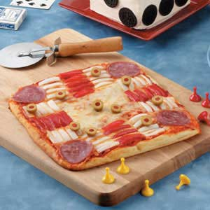 Par-Cheesy Pizza Recipe