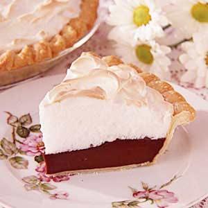 Grandma S Chocolate Meringue Pie Recipe Taste Of Home